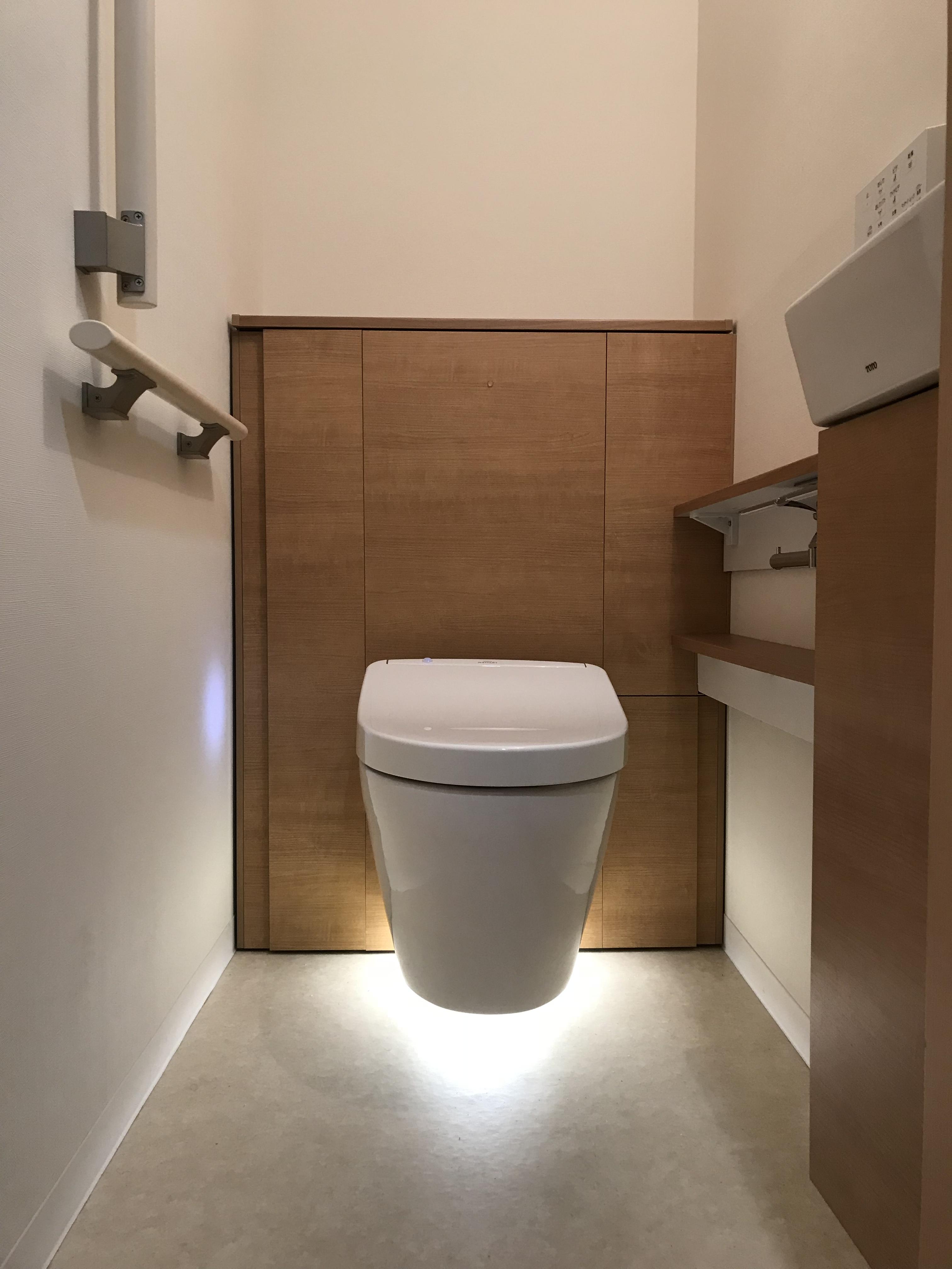 トイレ施工後①