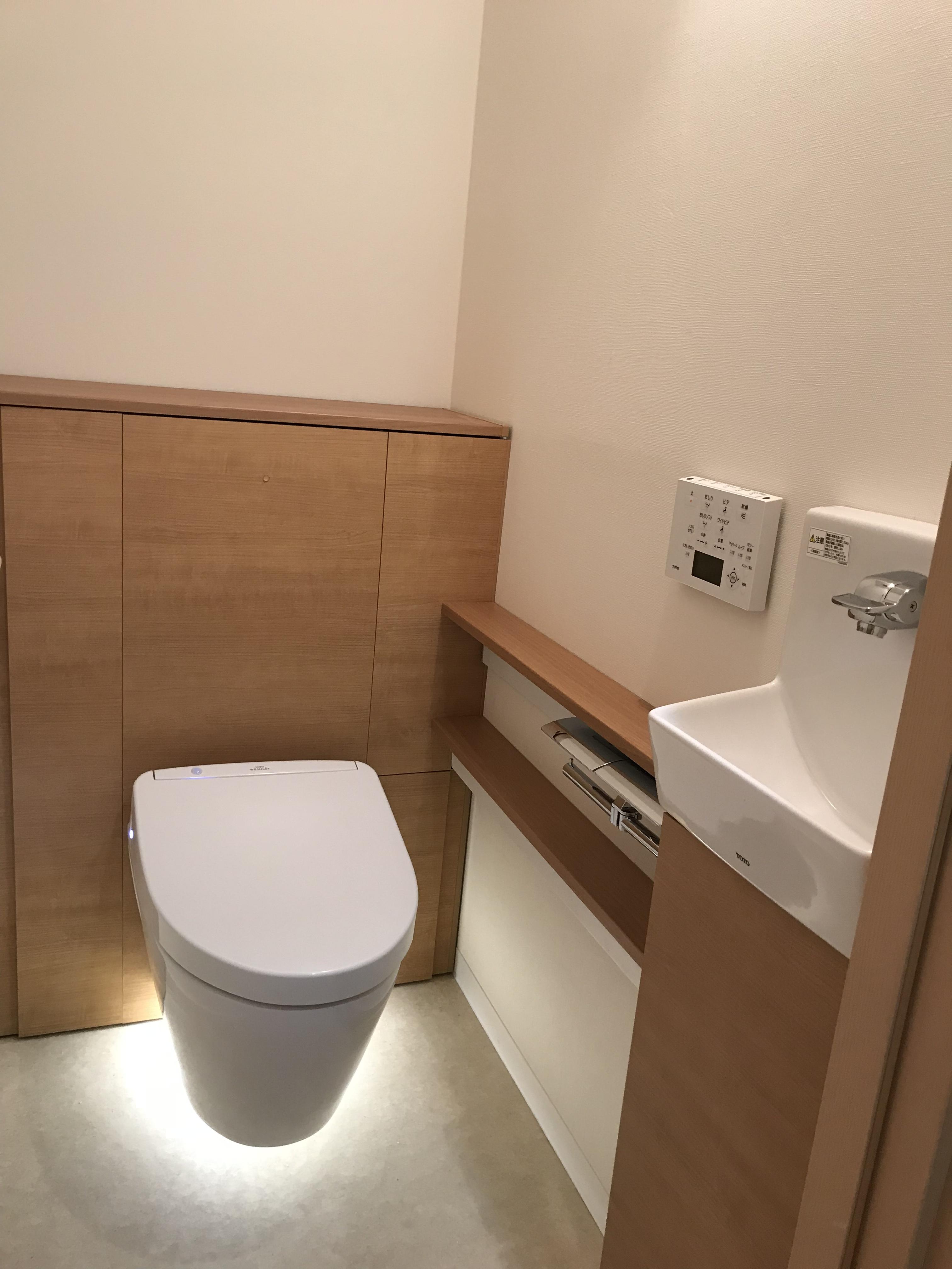 トイレ施工後②