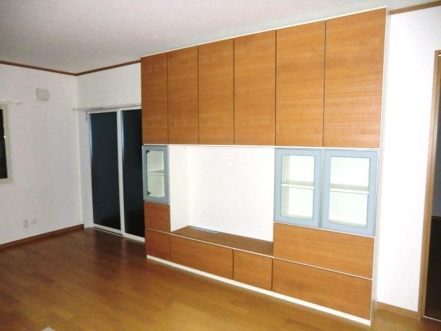 1階テレビ台収納