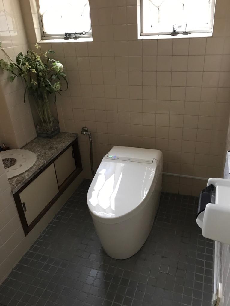 1階トイレ 施工後