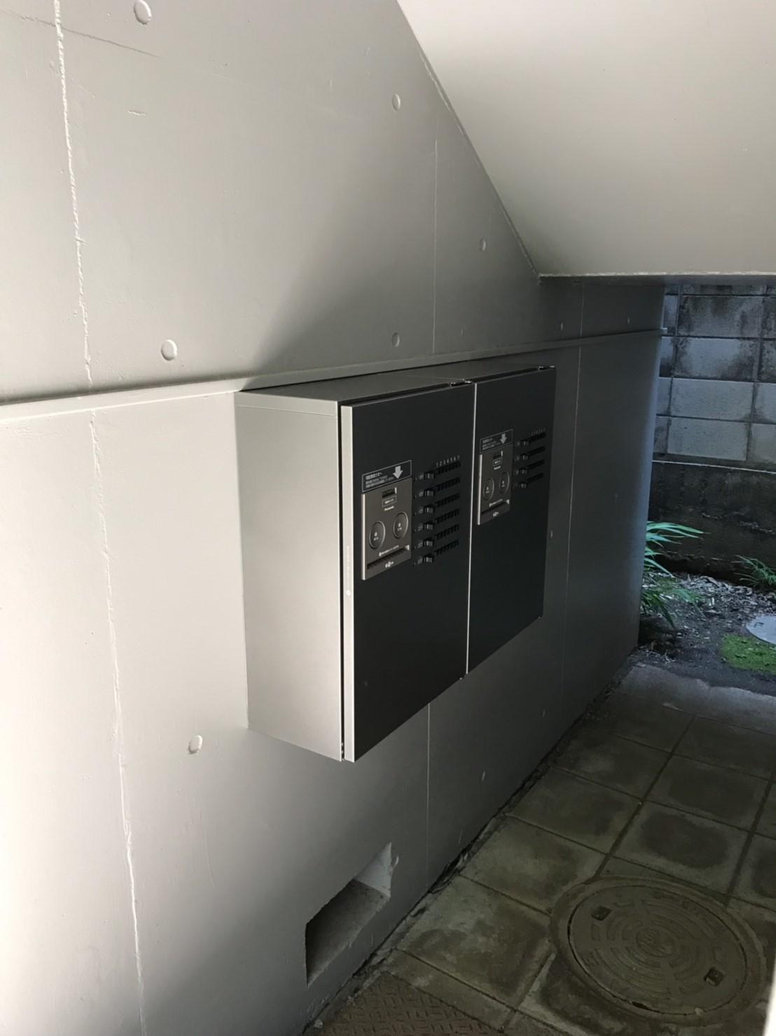 施工後 宅配ボックス設置(賃貸用)